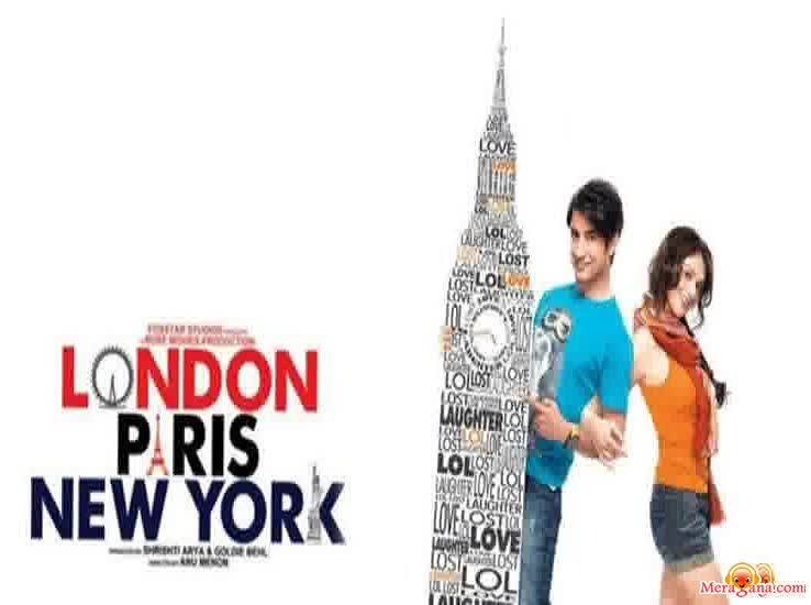 Poster of London Paris New York (2012) - (Hindi Film)